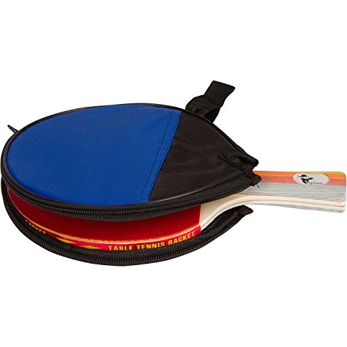 Vigilante Paddle Sports Table Tennis Paddle with High Performance Rubber and Travel Case | Tournament Quality, Lightweight Blade, Meets IMF Standards for Competition Play | Ideal for Beginners by Vigilante Paddle Sports