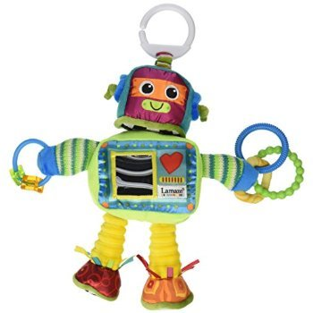 4 X Tomy Lamaze Play and Grow Take Along Toy, Rusty the Robot (Lamaze Take Along Toy)