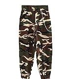 Alion Women Hip Hop Slacks Casual Baggy Harem Dance Sweatpants Trousers 4 XS