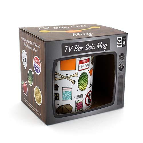 Ginger Fox Tv Box Sets Trivia Quiz Novelty Mug Can You Guess 50