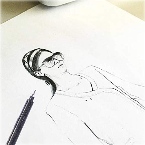 Illustrazioni Pennarello Evidenziatore di 4 Dimensioni Penna Stilografica per Scrittura dei Principianti Sfesnid 7pz Penna Ricarica Penna per Calligrafia Firma