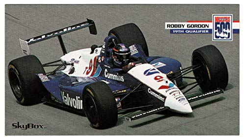- Robby Gordon (Auto Racing Card) 1995 Skybox Indy Racing # 37 Mint