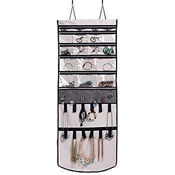 Amazoncom Misslo Door Wall Hanging Jewelry Organizer Scroll