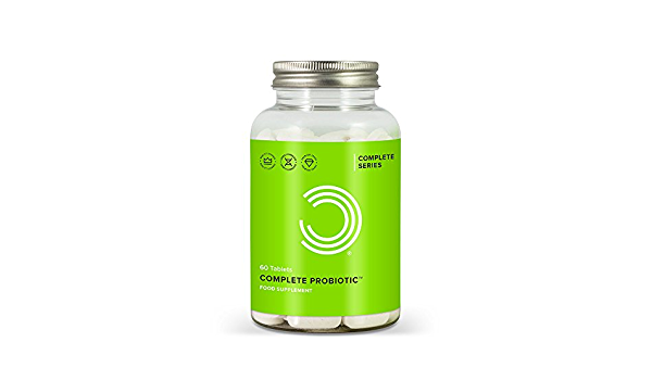 BULK POWDERS Complete Probiotic - Pack of 60 Tablets: Amazon ...