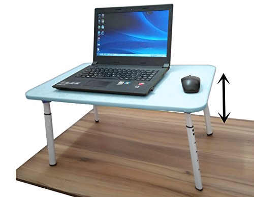 Adjustable Standing Desk Portable Laptop Computer Stand Small Folding Table Bed Tray Foldable Lap Writing Desk For Sofa Couch Floor Kids Camping Picnic Outdoor (Card Table 38)