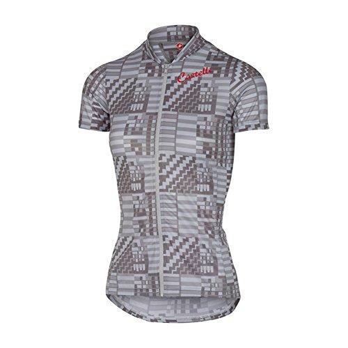 Castelli Bellissima Sentimento Full Zip Jersey - Women's Camouflage Grey, S