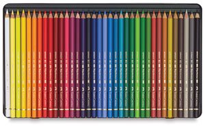 Polychromos 36 Pencil Metal Tin Set by Faber-Castell