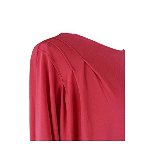 Rouge T nbsp;46 Cascade 40 Coupe Asymmetisch Femme nbsp;42 Plissé Boutique shirt Pour amp;apos nbsp;