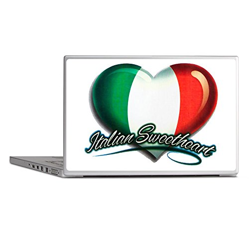 (Laptop Notebook 15 Inch Skin Cover Italian Sweetheart Italy Flag)