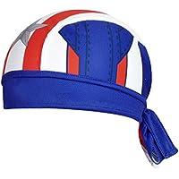 ShopINess - Gorro Bandana Ciclismo Capitán América Style