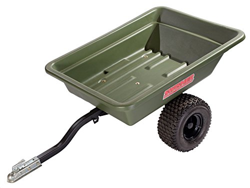 Swisher 12008A 20-Cubic Foot Multi-Purpose 1,000-Pound Capacity Poly Dump Trailer by Swisher