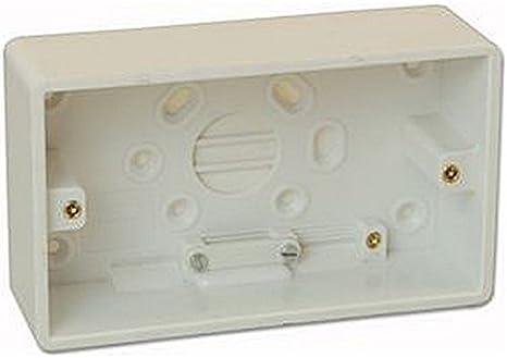 2 G 45 mm moldeado caja eléctrica trasera cajas/cajas de montaje ...