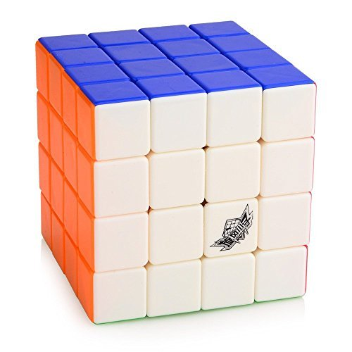 Cyclone Boys 4X4 Feiyue Stickerless Speed Cube Medium Mixed