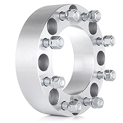 ECCPP 2X 2 inch 8 lug Wheel Spacers 8x170mm to 8x170mm 125mm compatible with Ford Excursion Ford F250 F350 Super Duty with 14x1.5 studs: Automotive