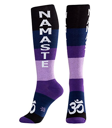 Gumball Poodle Namaste Knee High Tube Socks Unisex -