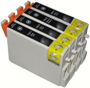 4 x cartuchos de tinta negra para Epson TO611 T0611 ET0611 para ...