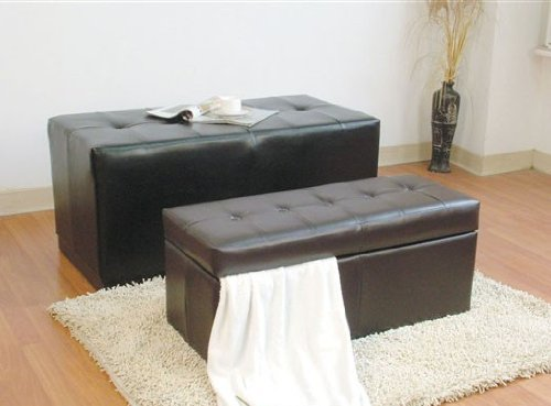 Bycast Storage Bench in 2pc Pack by Acme by Acme Furniture
