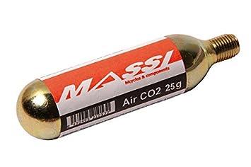 Massi 39033 - Cartucho de CO2 para Bicicleta: Amazon.es: Deportes y aire libre