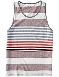Aeropostale Men's Free State Super Stripe Tank Shirt