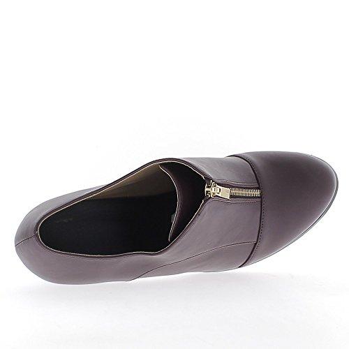 Grande 5cm De 9 À Richelieux Talons Taille Femme Bordeaux Chaussmoi qvwtvB
