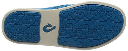 Woman Pehuea Sneaker Olukai Vivid Blue Vivid Blue Leather Clay Hw1x4xCnqZ
