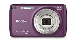 Kodak EasyShare Touch M577 14 MP Digital Camera with 5x Optical Zoom and 3-Inch LCD Touchscreen - Purple