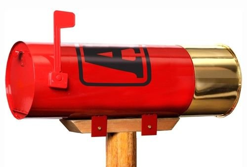 (Rockin W Brand Winchester W2002 Aa Shotshell Mailbox)