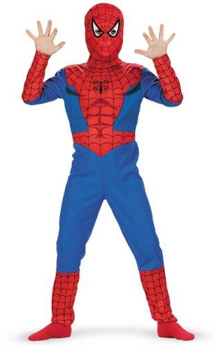 Child's Spiderman Costume (Size:Plus Size (Spiderman Costume Size 9-10)