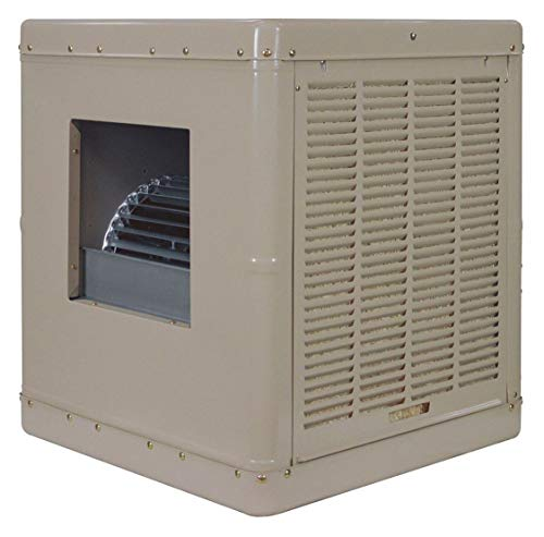 Essick Air Products 3000 cfm Belt-Drive Ducted Evaporative Cooler, Covers 500 to 700 sq. - Cooler Evaporative Drive