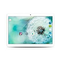 YUNTAB Tablet 10.1 pulgadas 3G+WiFi DUAL SIM Android 5.1 3G Blanco