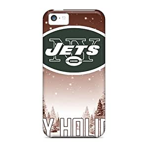High Quality Phone Covers For iPhone 5 5s With Support Your Personal Customized Colorful New York Jets Skin JamieBratt