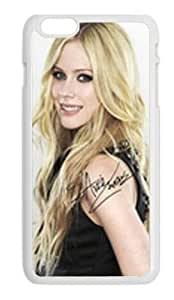 Alexgeorge Avril Lavigne Rubber Cover Case for Iphone 6 (4.7 inch)