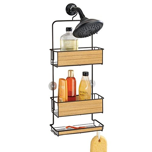 mDesign Shower Caddy Shampoo Conditioner
