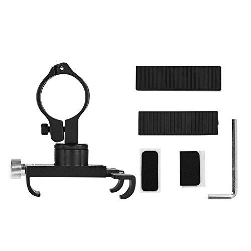 Mount Shock Spacers (Alomejor Bike Phone Holder Universal Adjustable Bicycle Motorcycle Handlebar Phone Mount Rack For 3.5-6.2 Inch Smartphones(Black))