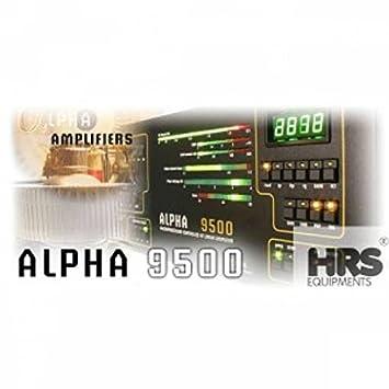 Alpha 9500 Amplificador Lineal Automática, 1,5 Kw