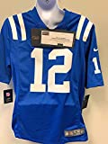 Andrew Luck Indianapolis Signed Autograph Blue