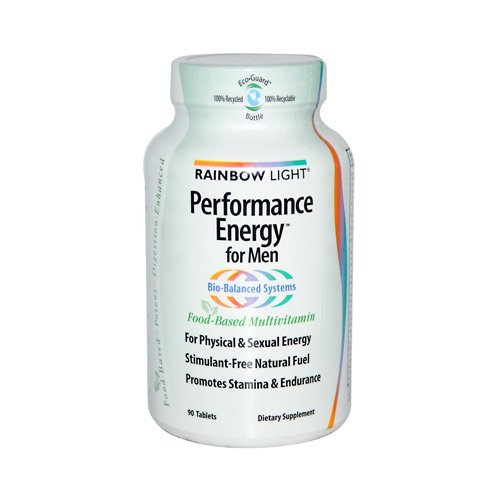 Rainbow Light Performance Energy Multivitamin Tablet – 90 per pack – 3 packs per case.