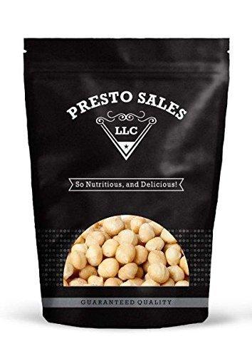 2 Lb Macadamia Nuts (Macadamia nuts, Raw Whole (2 lbs.) by Presto Sales LLC)