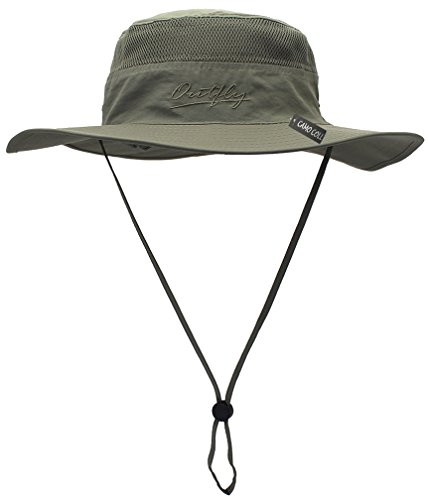 Camo Coll Outdoor UPF 50+ Boonie Hat Summer Sun Caps (One Size, Sage (Day 50 Caps)