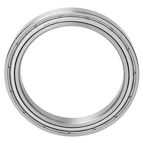 - 50 mm65 mm7 mm Double Shielded Ball Bearing, 1 Pcs Deep Groove Bearing Steel Double Shielded Single-Row High Speed Ball Bearing(6810-ZZ)