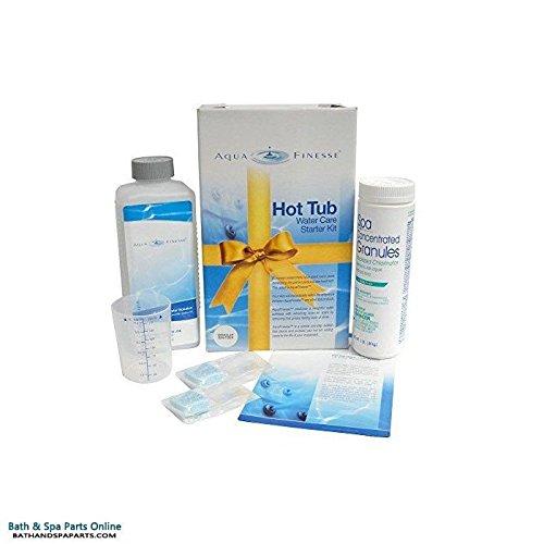 AquaFinesse Hot Tub Water Care Starter Kit - Dichlor (Powder)