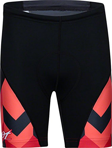 (Zoot Sports Unisex Protege Tri Shorts, Chevron Stripe, Large)
