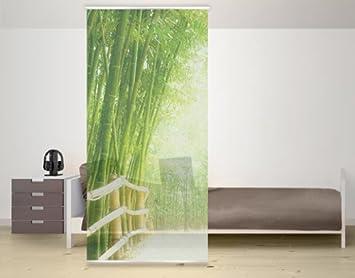 WTD Design Panneau japonais Motif bambou: Amazon.fr: Cuisine & Maison