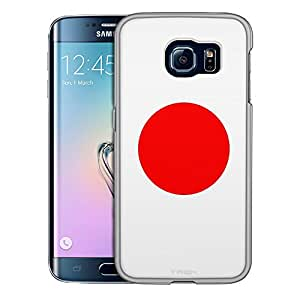 Samsung Galaxy S6 Edge Case, Slim Snap On Cover Japan Flag Case