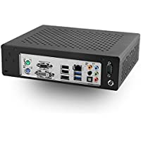 MITXPC MPC-Q1900ITX Intel Celeron J1900 Quad Core Fanless Industrial PC w/ 4GB - Assembled and Configured by MITXPC
