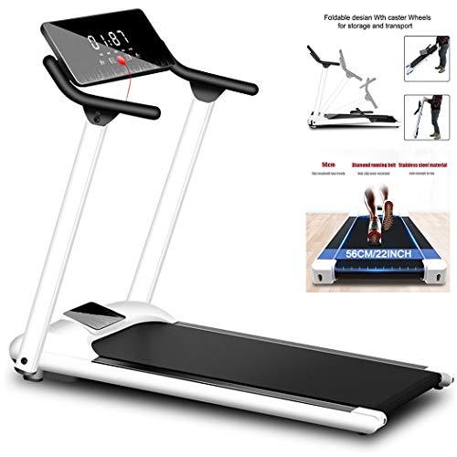 EKN Smart Folding Treadmills, met LCD Display Running Machine, Bluetooth Speaker, met Apparaathouder, Schokabsorptie en…