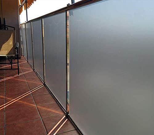 MI CASA Vinilo para Ventana 61CM x 200CM Privacidad Pegatina Opaco Transl/úcida Adhesiva Decorativa de Vidrio Autoadhesiva Ba/ño Despacho Cocina Control de Calor Anti Rayos UV Vinilo /ácido.