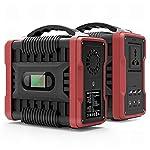 Multifunzionale Momcares generatore di corrente 200W 222WH generatore portatile litio Outdoor Home Camping gruppo… 41J94TGjuqL. SS150