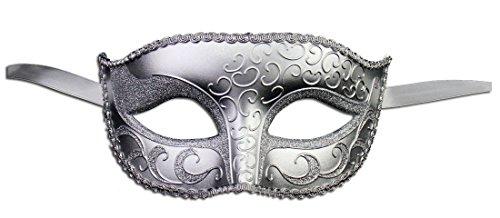Luxury Mask Unisex Sparkle Masquerade Venetian Mask Mardi Gras Costume