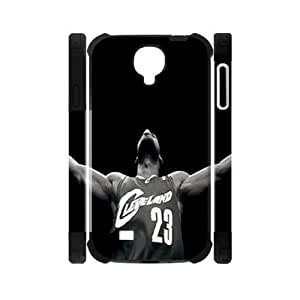Hoomin Lebron James Cool Design Samsung Galaxy S4 I9500 Cell Phone Cases Cover Popular Gifts(Laster Technology)